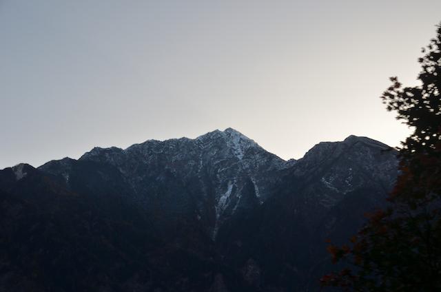 南アルプス林道 甲斐駒ヶ岳方面