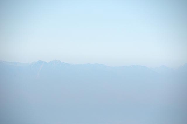 甲斐駒ヶ岳からの眺め 大天井岳 燕岳