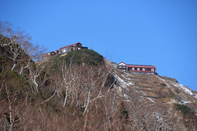 燕岳 登山道 合戦小屋〜燕山荘