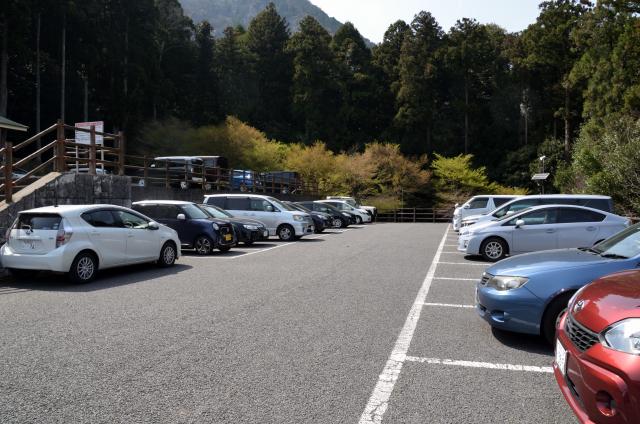 藤原岳 駐車場 午後