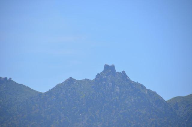 屋久島 太鼓岩からの眺め 翁岳
