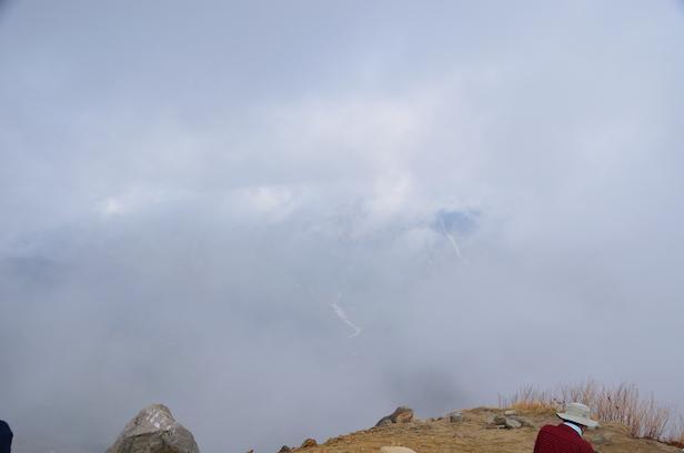 焼岳 北峰頂上