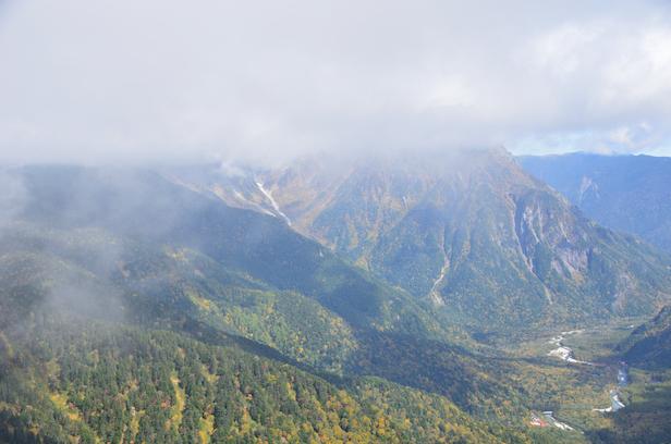 焼岳 上高地ルート 岳沢方面