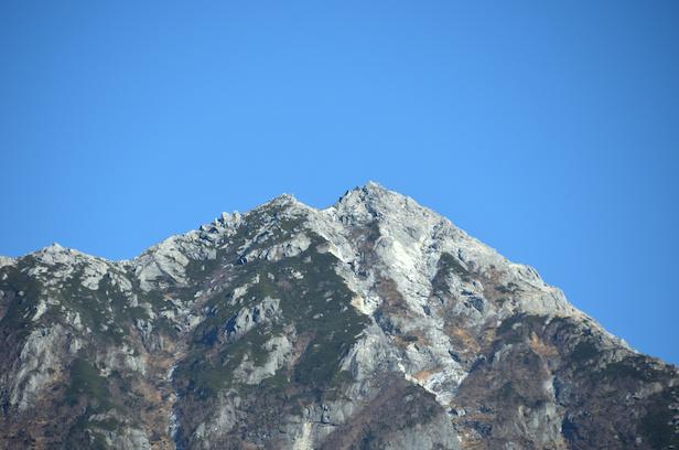 南アルプス林道 甲斐駒ケ岳