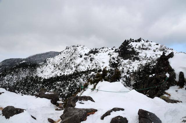 北横岳 登山 冬 三ツ岳Ⅰ峰