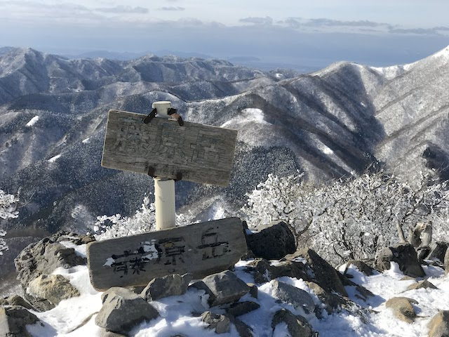 藤原岳 冬