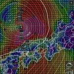 気圧・風速画面