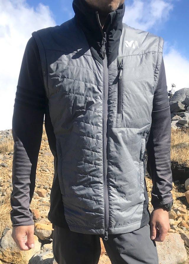 ミレー トイ ライト コンポジット ジャケット 御嶽山での着用感
