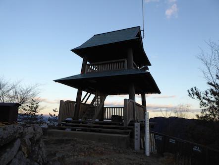 城山(猿啄城展望台)