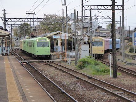 四日市あすなろう鉄道 日永駅