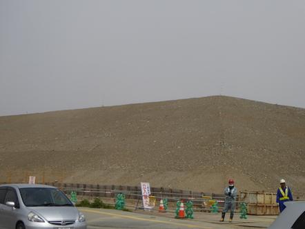 陸前高田市 かさ上げ工事