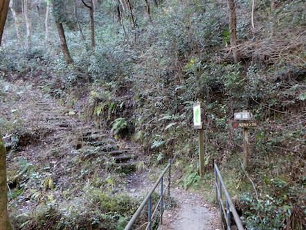 八曽の滝(山伏の滝) パノラマ展望台 分岐