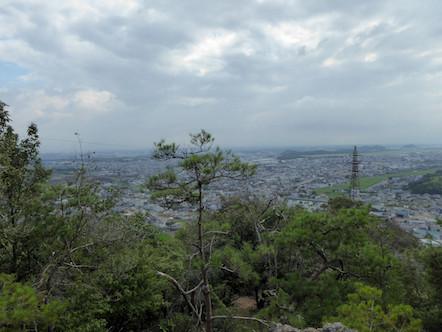 西登山道 愛宕山