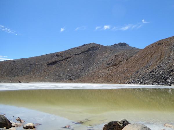 御嶽山 ニノ池