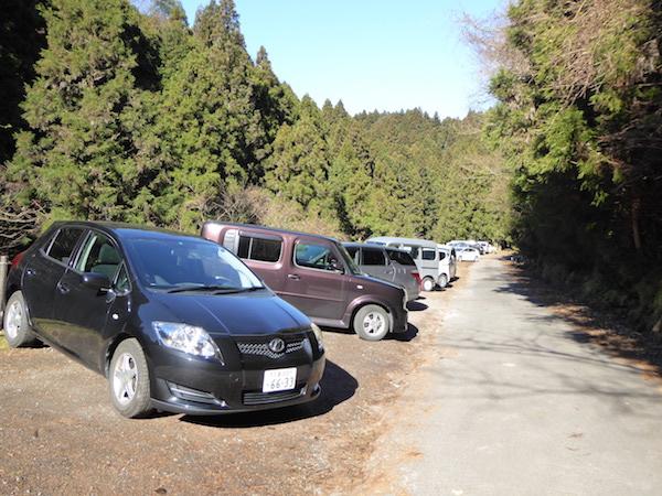 錫杖ヶ岳 加太ルート 登山口駐車場