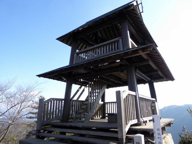 猿啄城展望台(城山)