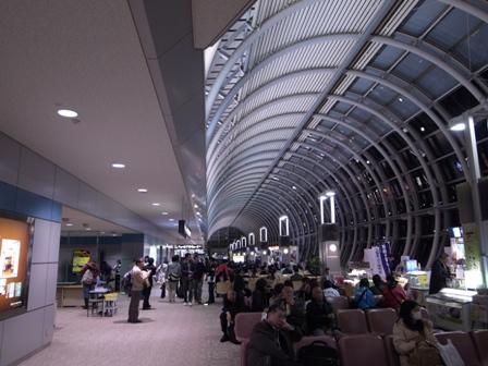 仙台空港 出発ロビー