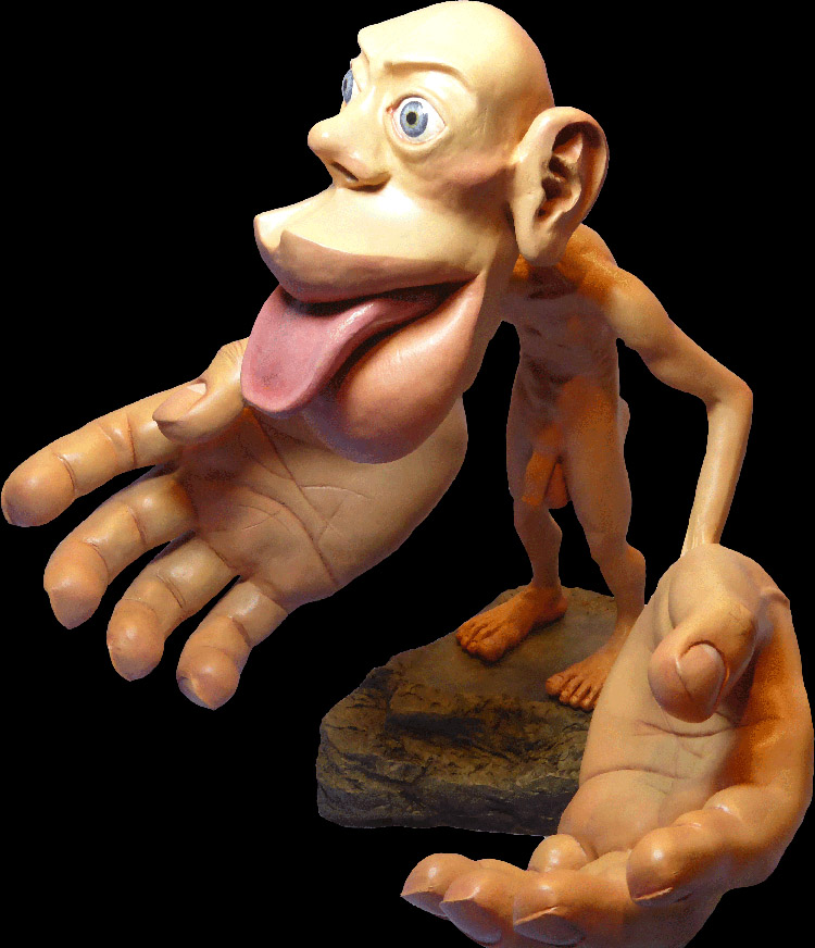 Homunculus Sculpture by Sharon Price-Jame
