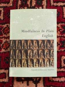 Book Cover Mindfulness In Plain English