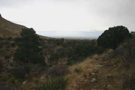 Devil's Hall Trail, Guadalupe Mountains National Park Texas