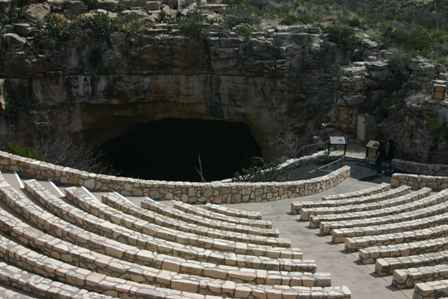Bat Cave Amphitheatre, Natural Entrance, Carlsbad Caverns