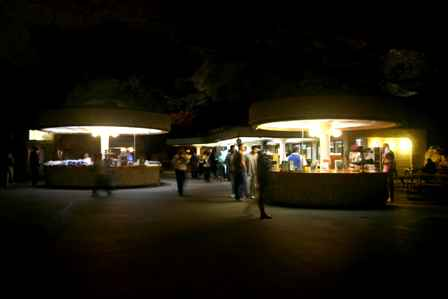 Snack bar, big room, Carlsbad Caverns