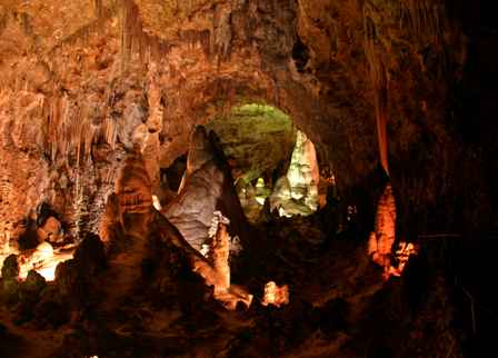 Big Room, Carlsbad Caverns National Park, New Mexico