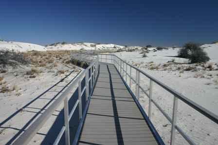 Interdune Boardwalk, White Sands National Monument, New Mexico