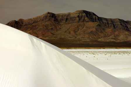 San Andres Mountains, Alkali Flats, White Sands National Monument