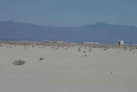 Military Base at White Sands National Monument New Mexico