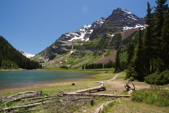Hiking to Crater Lake at Maroon Bells – TakeMyTrip com
