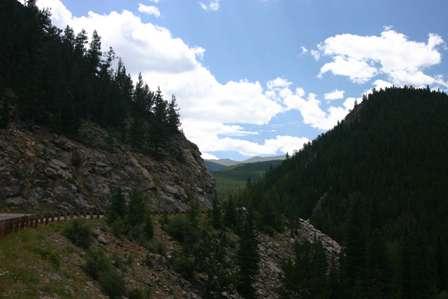 Road to Mt. Evans