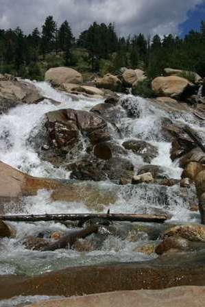 Alluvial Fan, Rocky Mountain National Park (RMNP)