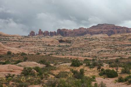 Petrified Sand Dunes, Arches National Park