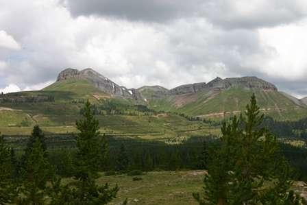 turk's head mountain, san juan skyway