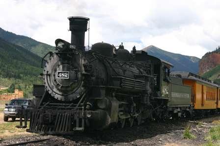 Durango Silverton Narrow Gauge Railroad D&SNGRR train