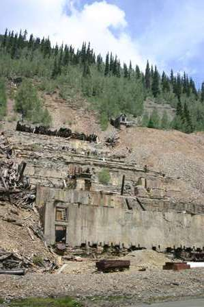 sunnyside mine, eureka, near silverton colorado