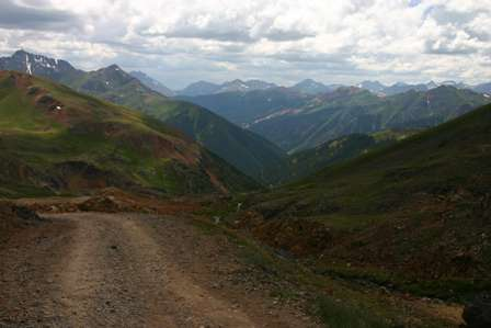 4wd road, san juan mountains