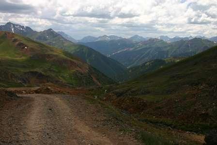 4wd road, san juan mountains
