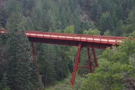 steel bridge, phantom canyon road