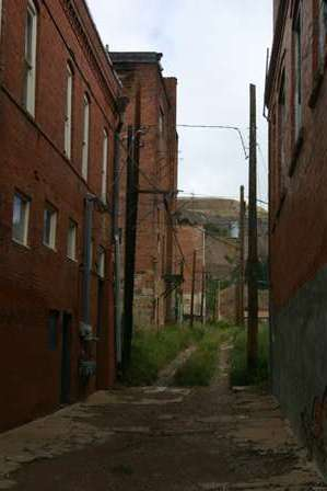 alley, victor colorado