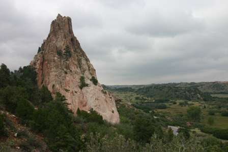 rock outcroppings at Garden of the Gods, Colorado Springs