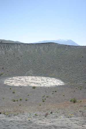 Ubehebe Crater, Death Valley National Park, Little Hebe
