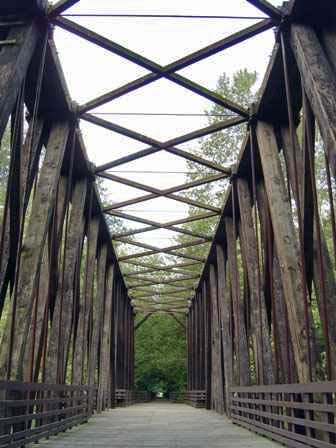 Railroad Path Bridge, Sequim Washington