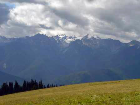 Mount Olympus, Hurricane Hill, Olympic National Park