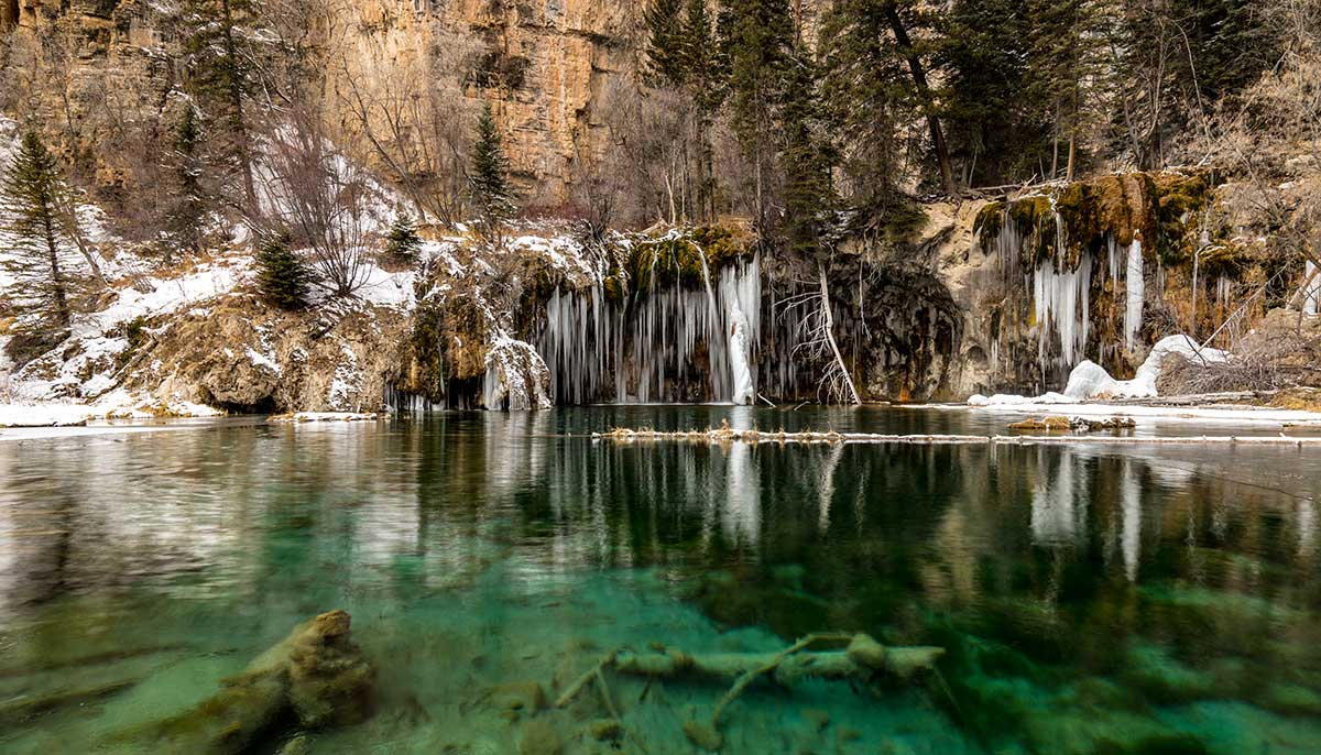 Hanging Lake Winter Hike, Glenwood Canyon – TakeMyTrip.com