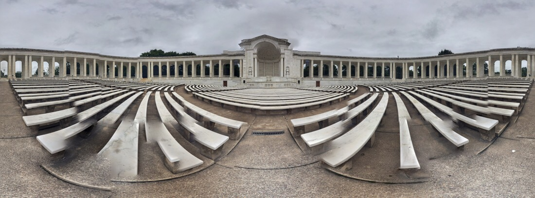 ampitheatre at arlington national cemetery