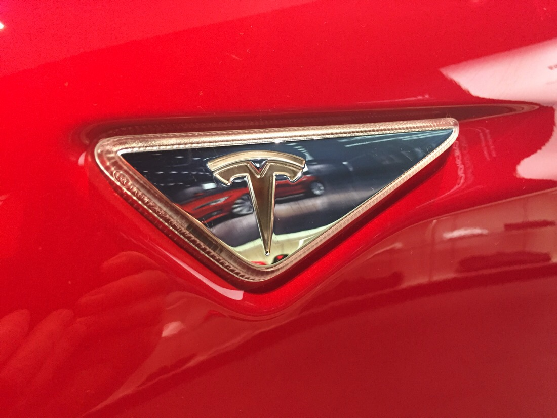 tesla cars at montgomery mall in bethesda, md