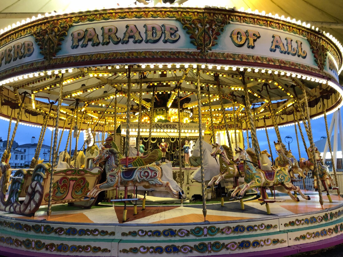 Silcock's Funland at Southport Pier