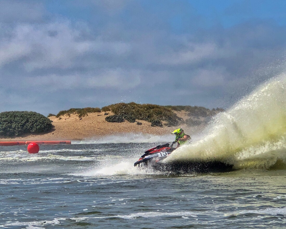 Round 4 of the British jet sport championship in Crosby, Liverpool